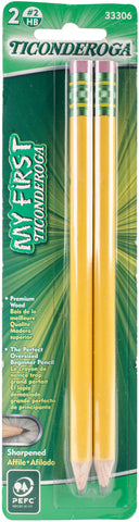 My First Ticonderoga Presharpened #2 Pencils 2/Pkg
