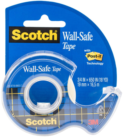"Scotch Wall-Safe Tape .75""X650"""