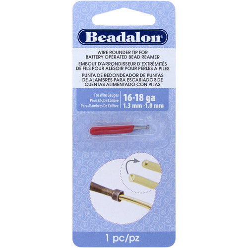 Battery Operated Bead Reamer Wire Rounder Tip 16-18 Gauge
