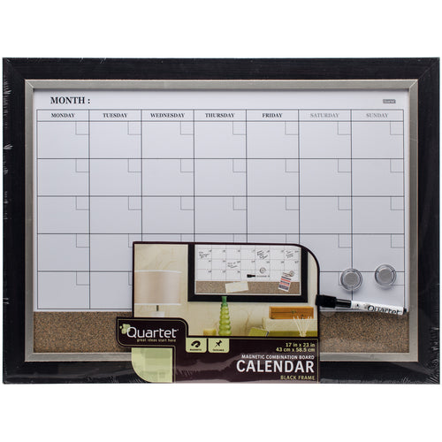 "Magnetic Combination Calendar Board 17""X23"""