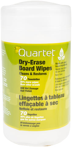 Quartet Boardwipes Dry-Erase Cleaning Wipes