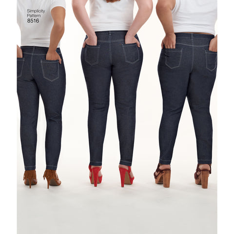 Simplicity Misses Mimi G Skinny Jeans