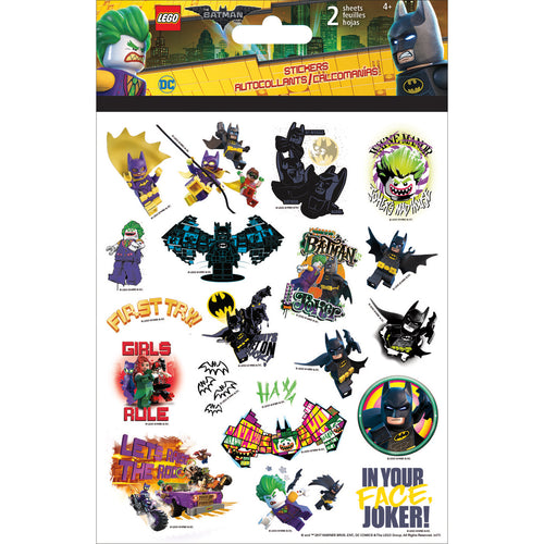 LEGO Foldover Stickers 2 Sheets