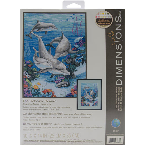 "Dimensions Counted Cross Stitch Kit 10""X14"""