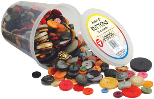Bucket O' Buttons 16 Oz.