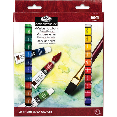 essentials(TM) Watercolor Paints 12ml 24/Pkg
