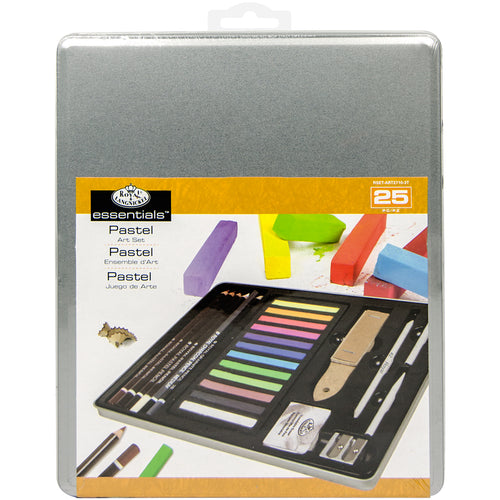 essentials(TM) Medium Pastel Art Set W/Tin