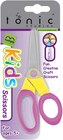 Tonic Kushgrip Kids' Blunt Tip Scissors 5""