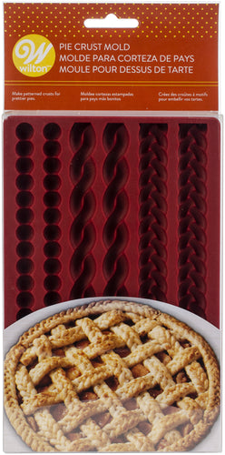 Silicone Lattice Pie Crust Mold