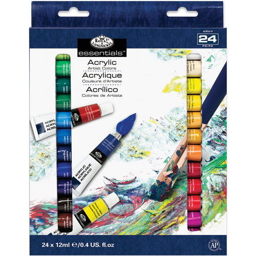 essentials(TM) Acrylic Paint 12ml 24/Pkg