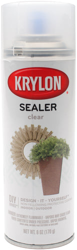 Krylon Clear Sealer Aerosol Spray 6oz