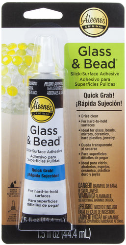Aleene's Platinum Bond Glass & Bead Adhesive