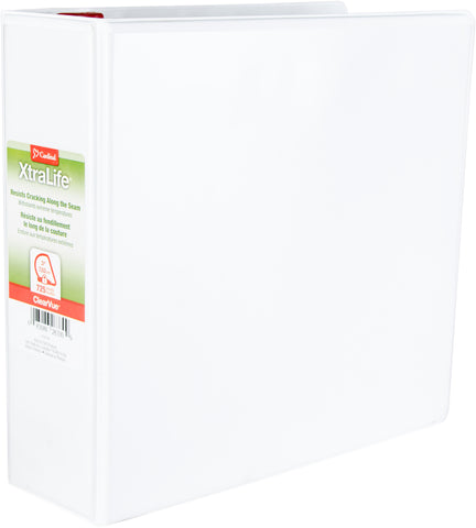 "Cardinal XtraLife ClearVue 3"" Slant-D 3-Ring Binder"