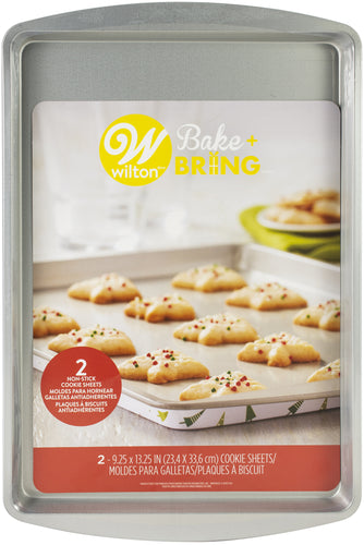 "Bake & Bring Tin Cookie Sheets 9""X13"" 2/Pkg"