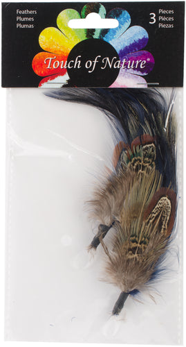 "Feather Picks 4"" To 7"" 2/Pkg"