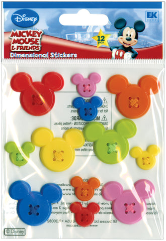 Disney Adhesive Buttons