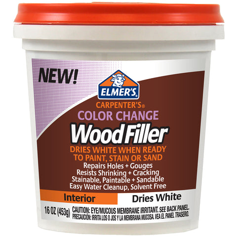 Elmer's Color Change Wood Filler 16oz