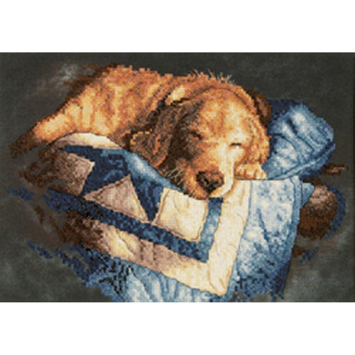 "Dimensions Stamped Counted Cross Stitch Kit 14""X10"""