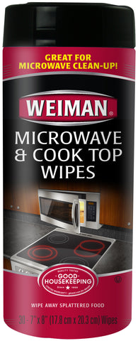 Weiman Microwave & Cook Top Wipes