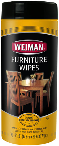 Weiman Wood Furniture Wipes