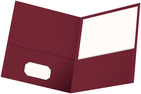 Oxford Twin Pocket Folders 25/Pkg
