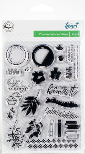 Let Your Heart Decide Photopolymer Stamps