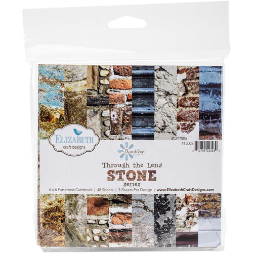 "Elizabeth Craft Through The Lens Cardstock 6""X6"" 48/Pkg"