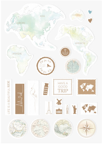 Alexandra Renke Travel Sticker