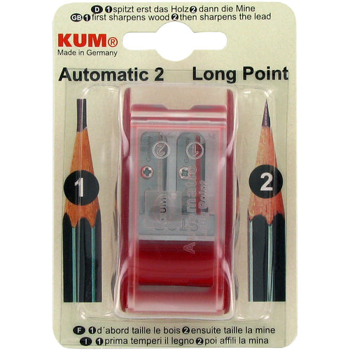 KUM (R) Automatic Long-Point Pencil Sharpener