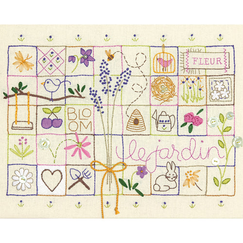 "Dimensions Stamped Embroidery Kit 14""X11"""