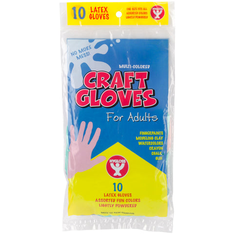 Adult Craft Gloves 10/Pkg