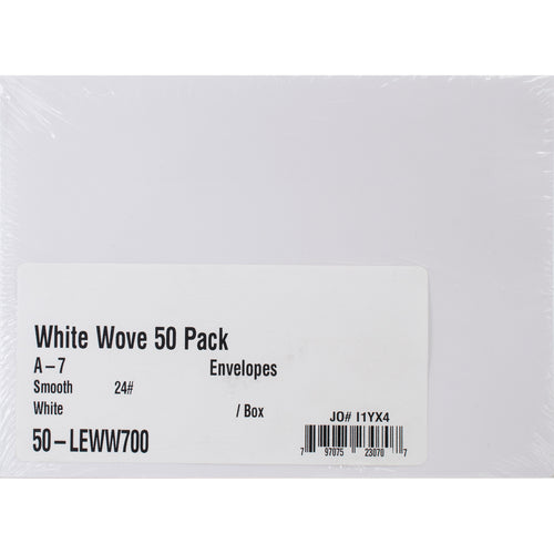 "Leader A7 Envelopes (5.25""X7.25"") 50/Pkg"