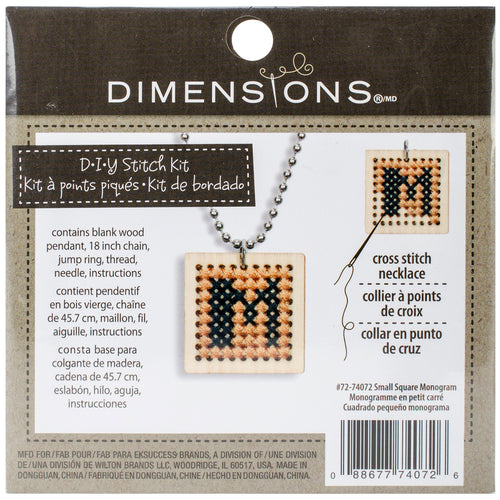 Dimensions Wooden Counted Cross Stitch Kit 1""