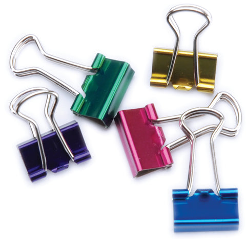 "Mini Binder Clips .5"" 12/Pkg"