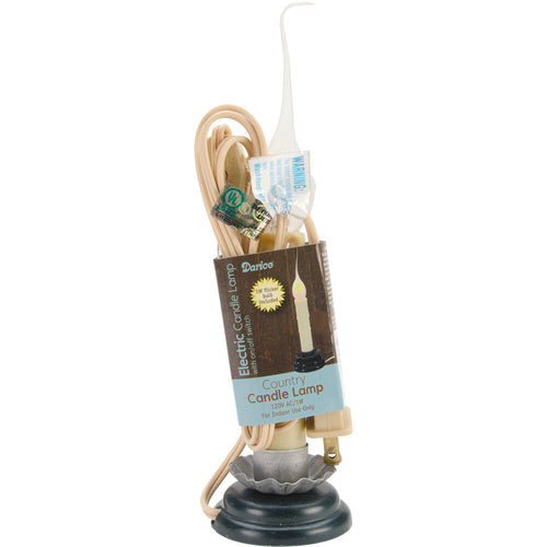 Electric Country Candle Flickering Lamp 6""