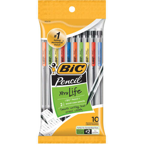 BIC Xtra Life Mechanical Pencils 10/Pkg