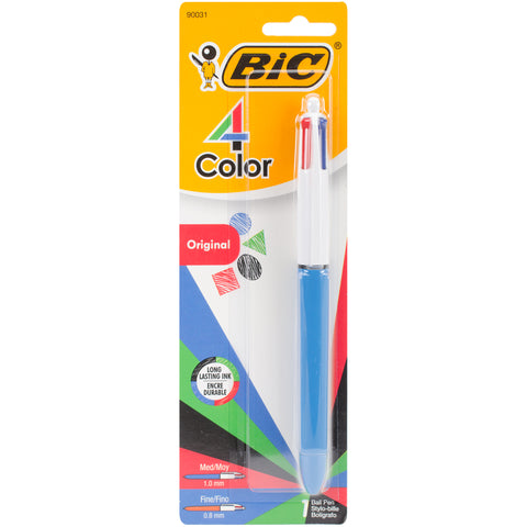 BIC 4-Color Retractable Ballpoint Pen