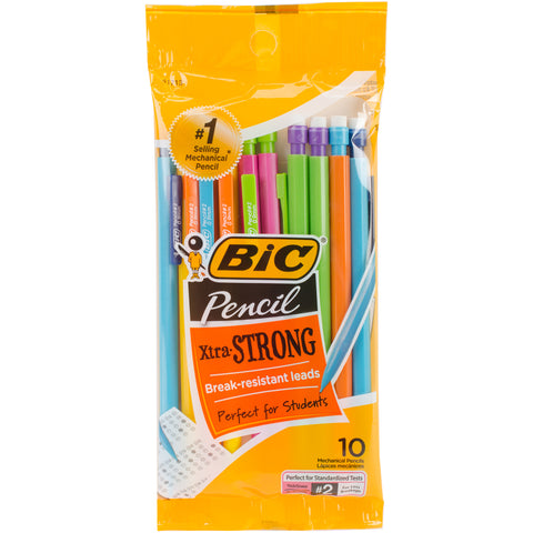 BIC Xtra Strong Mechanical Pencils 10/Pkg