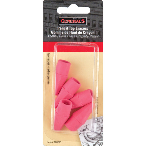 Pencil Eraser Caps 5/Pkg