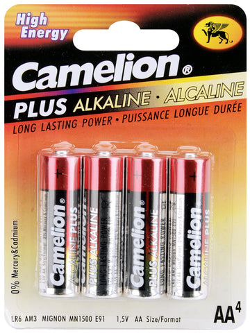 Alkaline Batteries 4/Pkg