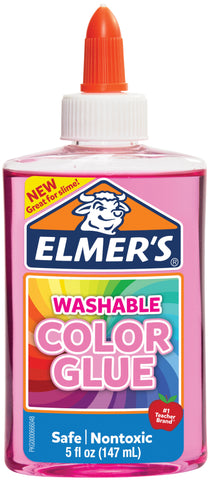 Elmer's Transparent Colored Liquid Glue 5oz
