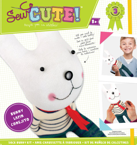 Sew Cute! Sock Buddy Kit