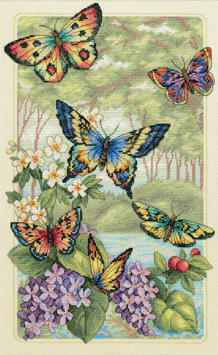 "Dimensions Gold Collection Counted Cross Stitch Kit 10""X16"""
