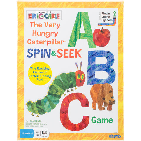 Very Hungry Caterpillar Spin & Collect ABC Game