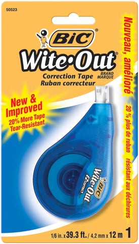 BIC Wite-Out EZ Correction Tape