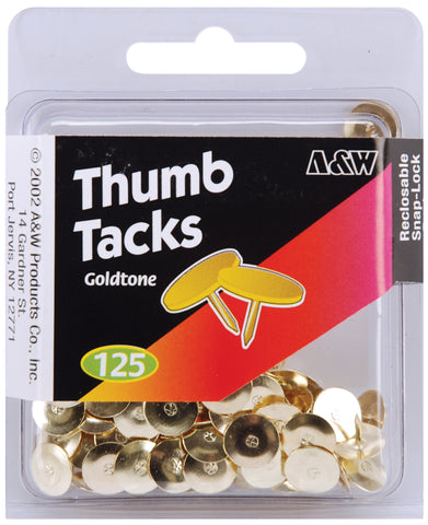 Thumbtacks 125/Pkg