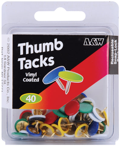 Thumbtacks 40/Pkg