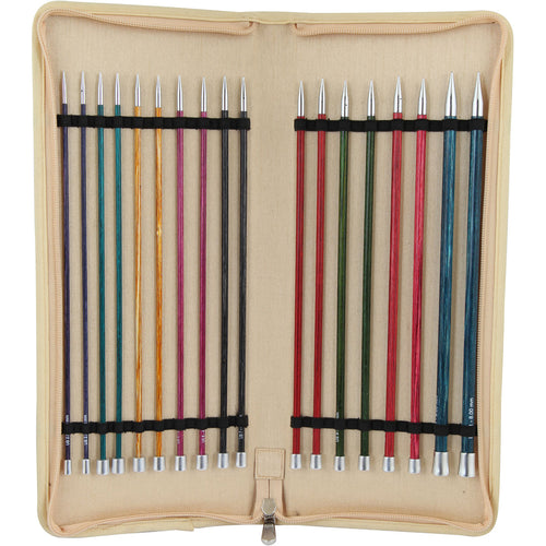Knitter's Pride-Royale Single Pointed Needles Set 10""