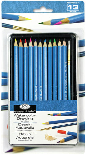 essentials(TM) Watercolor Pencil Art Set 12/Pkg