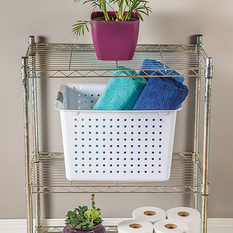 Sterilite Deep Ultra(TM) Storage Basket